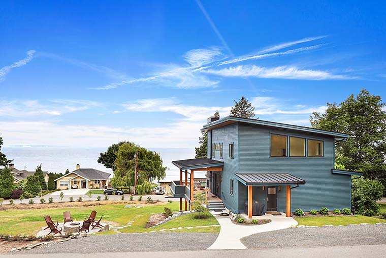 Contemporary, Modern Plan with 2287 Sq. Ft., 3 Bedrooms, 3 Bathrooms, 2 Car Garage Picture 6
