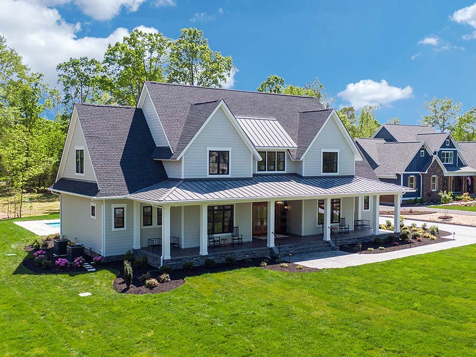 Country, Farmhouse, Traditional Plan with 3952 Sq. Ft., 4 Bedrooms, 4 Bathrooms, 3 Car Garage Picture 10