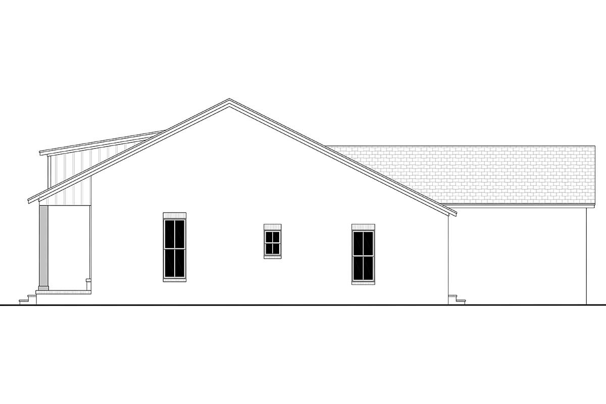 Country, Craftsman, Farmhouse, Traditional Plan with 2044 Sq. Ft., 3 Bedrooms, 3 Bathrooms, 2 Car Garage Picture 2