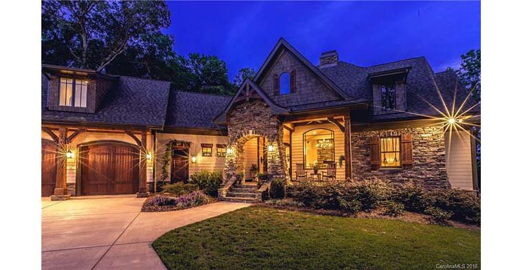 Cottage, Craftsman, Tuscan Plan with 2482 Sq. Ft., 4 Bedrooms, 4 Bathrooms, 2 Car Garage Picture 2