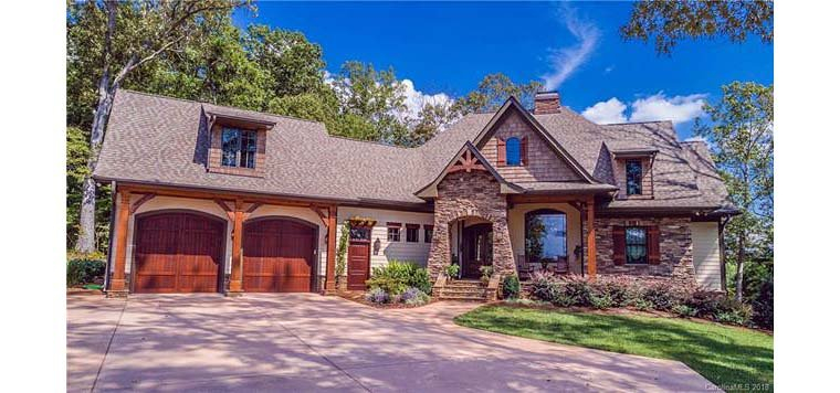 Cottage, Craftsman, Tuscan Plan with 2482 Sq. Ft., 4 Bedrooms, 4 Bathrooms, 2 Car Garage Picture 6
