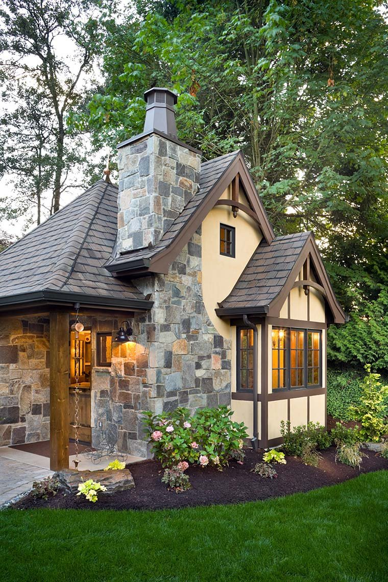 Cabin, Cottage, Narrow Lot, One-Story Plan with 300 Sq. Ft., 1 Bedrooms, 1 Bathrooms Picture 6