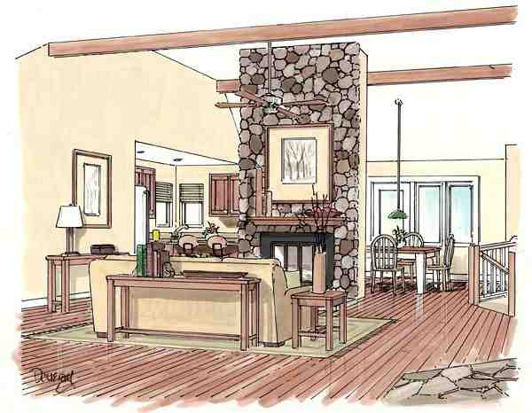 Country, Ranch House Plan 24249 with 3 Beds, 2 Baths, 2 Car Garage Picture 1