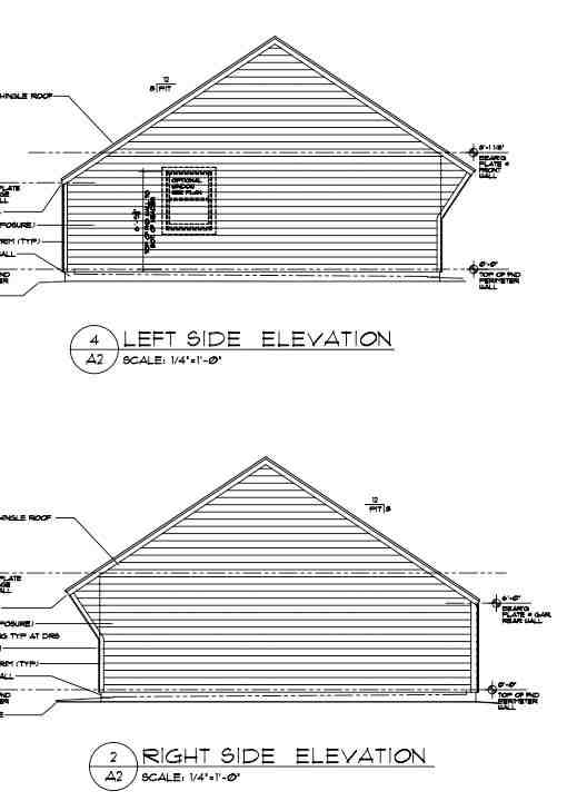 Cape Cod, Saltbox, Traditional 3 Car Garage Plan 30022 Picture 2