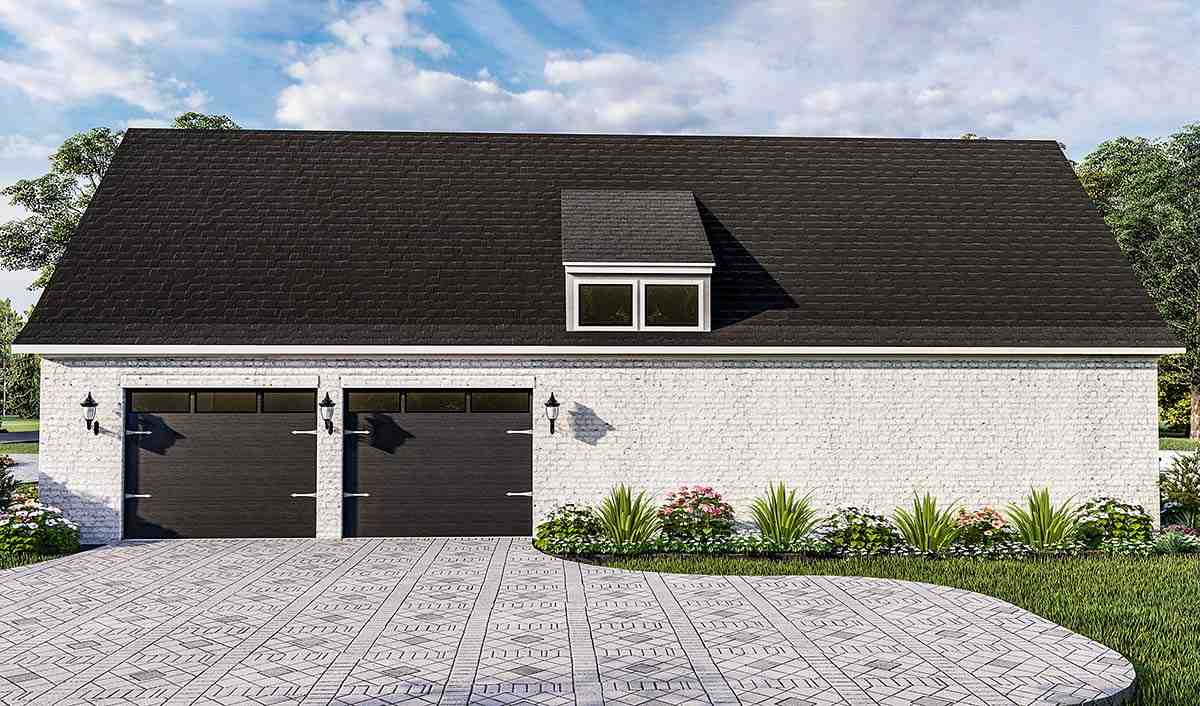 Acadian, Country, Farmhouse, French Country, Southern, Traditional House Plan 40051 with 4 Beds, 3 Baths, 2 Car Garage Picture 1
