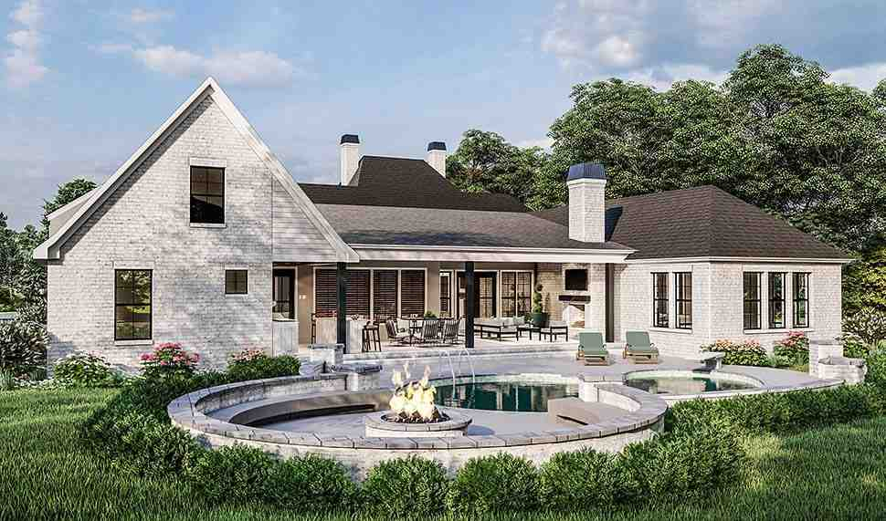 Acadian, Country, Farmhouse, French Country, Southern, Traditional House Plan 40051 with 4 Beds, 3 Baths, 2 Car Garage Picture 6