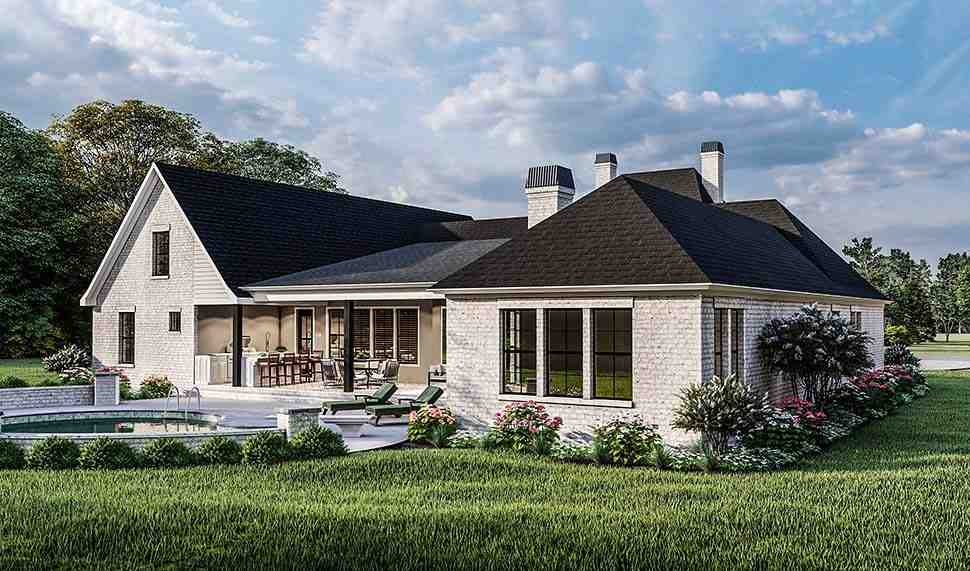 Acadian, Country, Farmhouse, French Country, Southern, Traditional House Plan 40051 with 4 Beds, 3 Baths, 2 Car Garage Picture 7