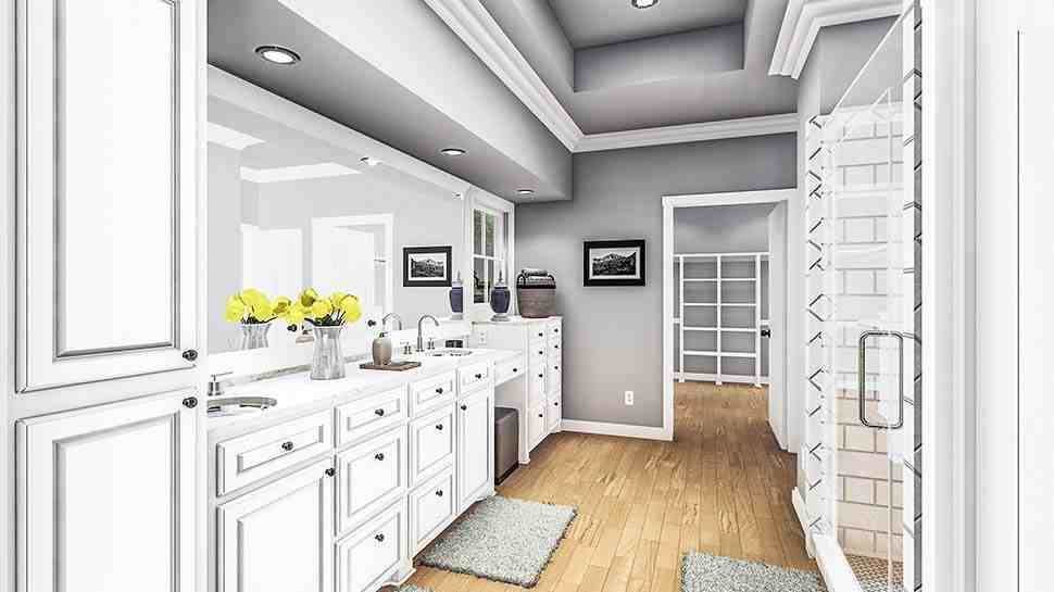 Country, Farmhouse, Ranch, Southern House Plan 40053 with 4 Beds, 2 Baths, 2 Car Garage Picture 17