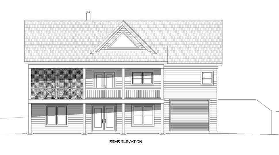 Country, Farmhouse, Ranch, Traditional House Plan 40894 with 4 Beds, 3 Baths, 1 Car Garage Picture 4