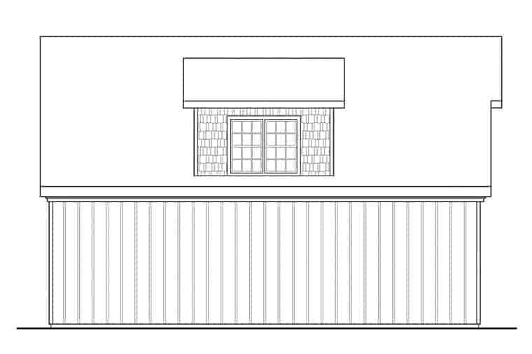 Craftsman 3 Car Garage Plan 41150 Picture 1