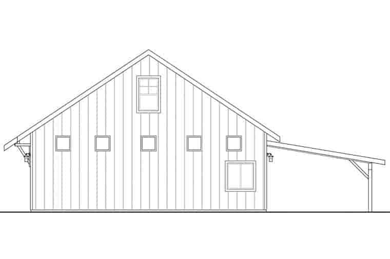 Craftsman 2 Car Garage Plan 41160 Picture 2