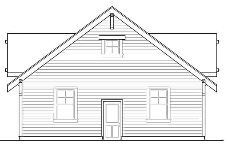 Craftsman, Ranch, Traditional 3 Car Garage Plan 41273 Picture 1