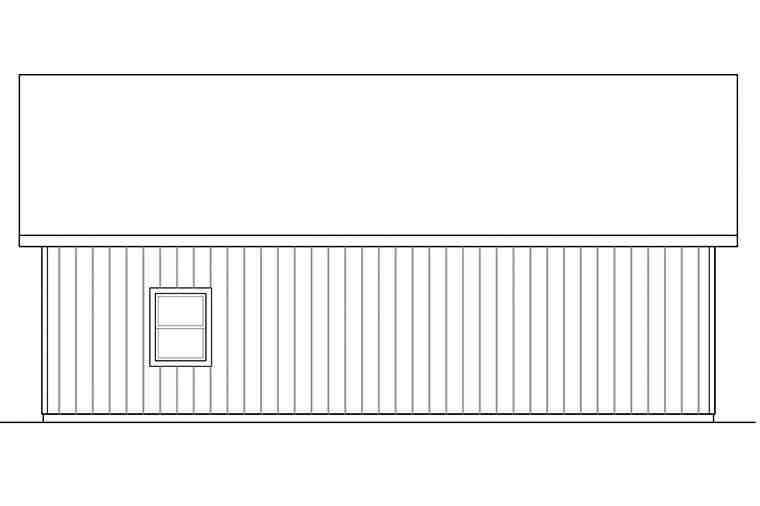 Traditional 2 Car Garage Plan 41296 Picture 2