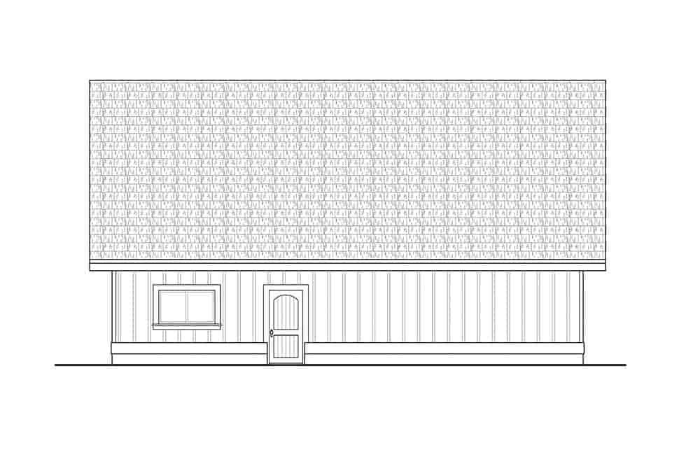 Traditional 2 Car Garage Plan 41313 Picture 2