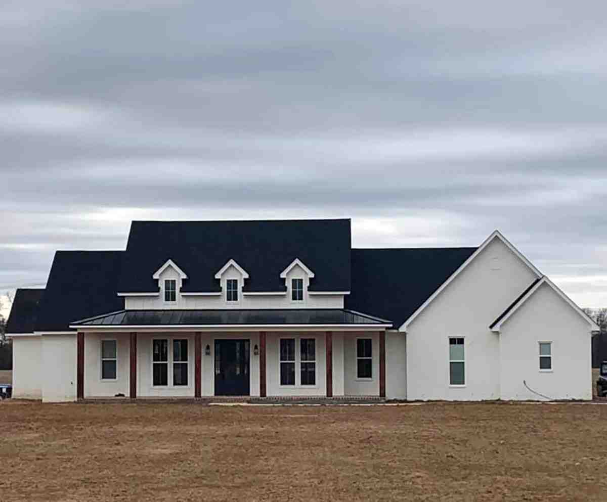 Country, Farmhouse, Southern House Plan 41409 with 3 Beds, 3 Baths, 2 Car Garage Picture 1