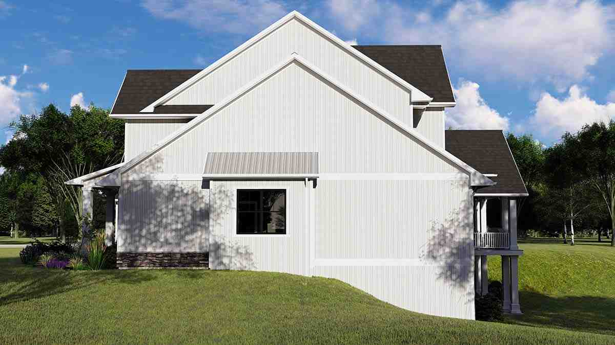 Cottage, Country, Craftsman House Plan 41812 with 4 Beds, 5 Baths, 3 Car Garage Picture 1