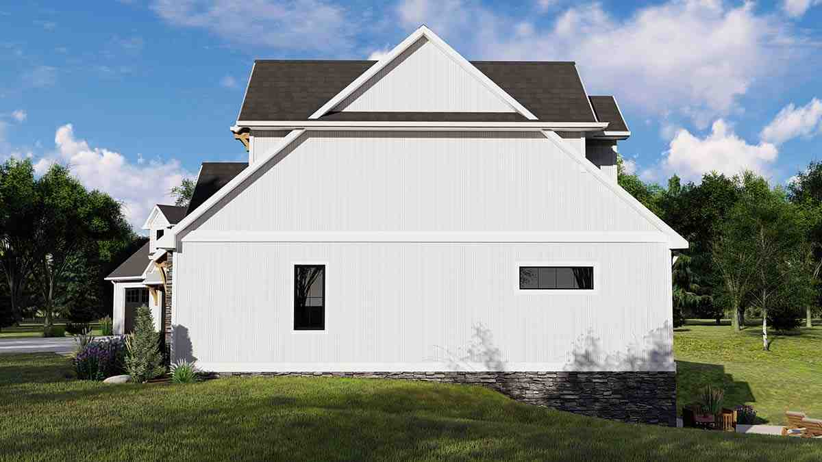 Country, Craftsman, Farmhouse House Plan 41813 with 3 Beds, 4 Baths, 3 Car Garage Picture 1