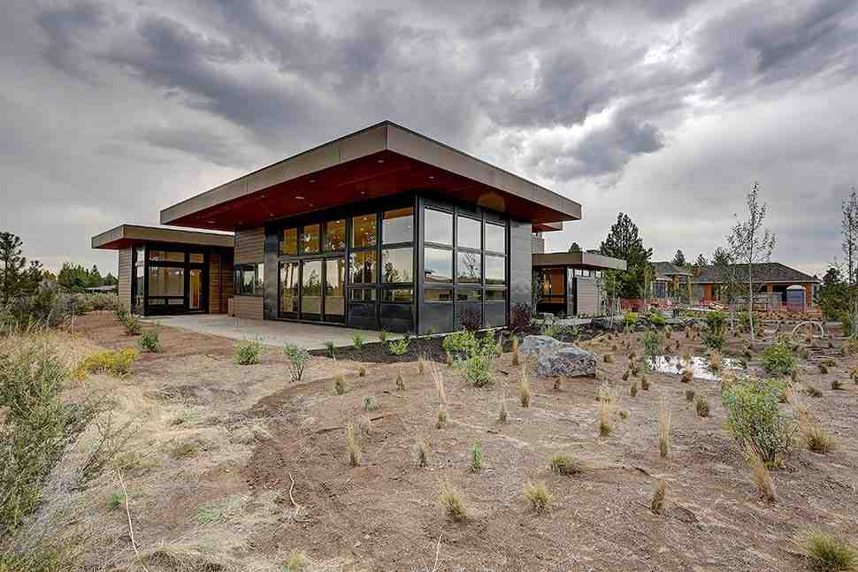Contemporary House Plan 43331 with 4 Beds, 5 Baths, 3 Car Garage Picture 4