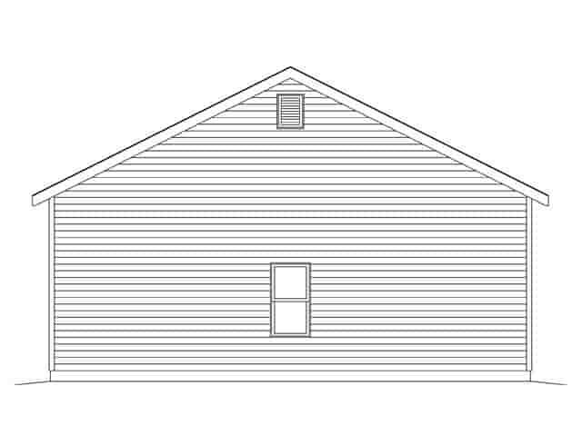 2 Car Garage Plan 45138 Picture 2