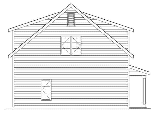 2 Car Garage Plan 45145 Picture 1