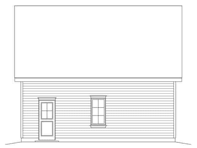 2 Car Garage Plan 45149 Picture 2