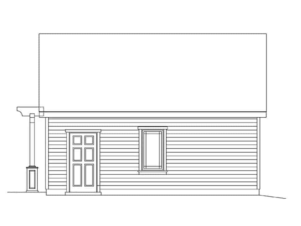 2 Car Garage Plan 45181 Picture 1