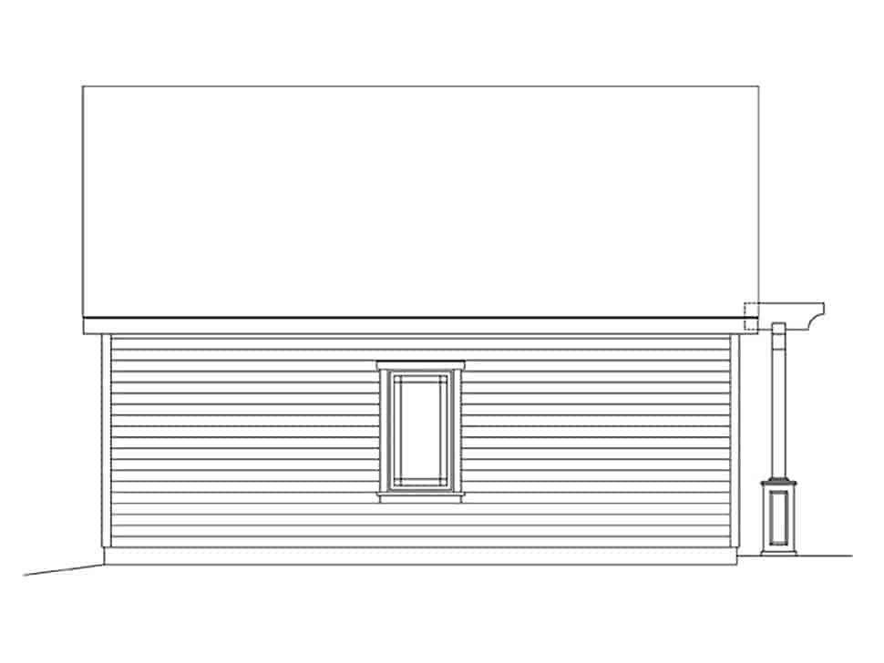 2 Car Garage Plan 45181 Picture 2