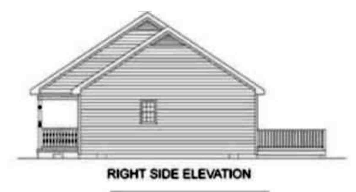 Ranch House Plan 45272 with 3 Beds, 3 Baths Picture 1