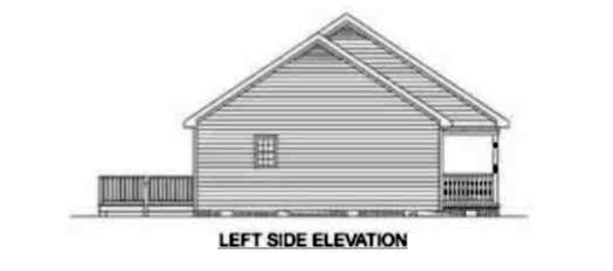 Ranch House Plan 45272 with 3 Beds, 3 Baths Picture 2