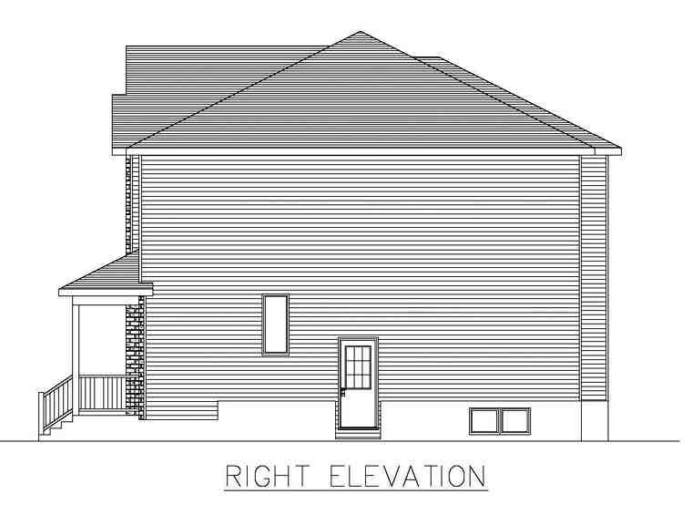 Multi-Family Plan 48297 with 6 Beds, 4 Baths Picture 2