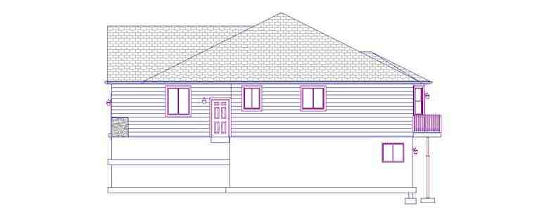 House Plan 50440 with 5 Beds, 3 Baths, 2 Car Garage Picture 2