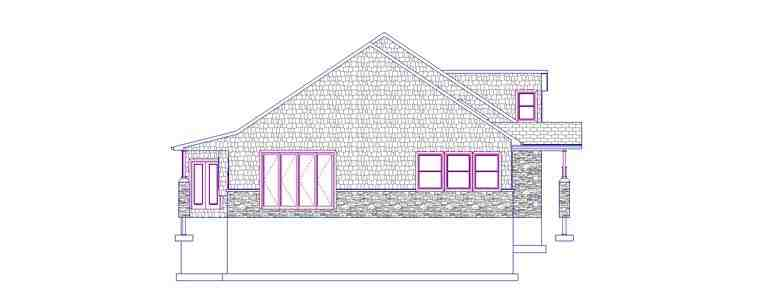 House Plan 50441 with 3 Beds, 3 Baths, 3 Car Garage Picture 1