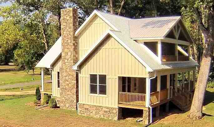 Cabin, Country, Farmhouse House Plan 51411 with 3 Beds, 4 Baths Picture 2