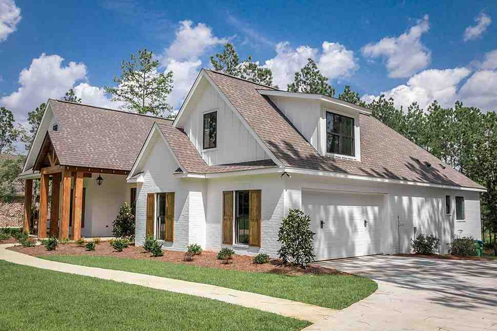 Country, Craftsman, Farmhouse House Plan 51981 with 4 Beds, 3 Baths, 2 Car Garage Picture 15