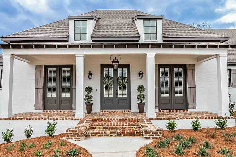 European, French Country, Ranch, Southern House Plan 51989 with 3 Beds, 2 Baths, 3 Car Garage Picture 2