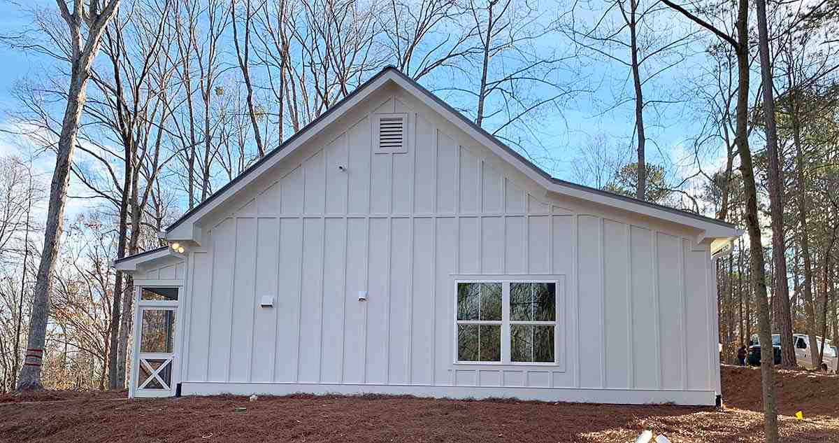Cabin, Cottage, Country House Plan 52011 with 1 Beds, 1 Baths Picture 1