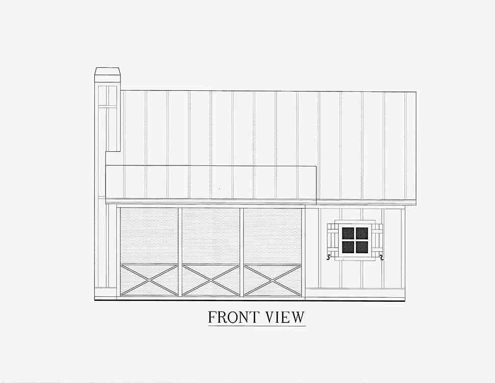 Cabin, Cottage, Country House Plan 52011 with 1 Beds, 1 Baths Picture 12