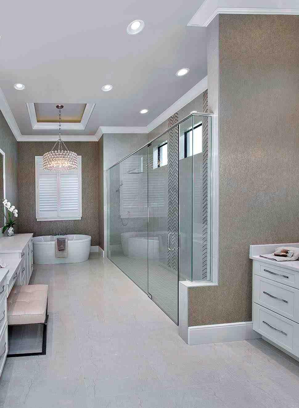 Coastal, Florida, Mediterranean House Plan 52930 with 4 Beds, 6 Baths, 3 Car Garage Picture 10