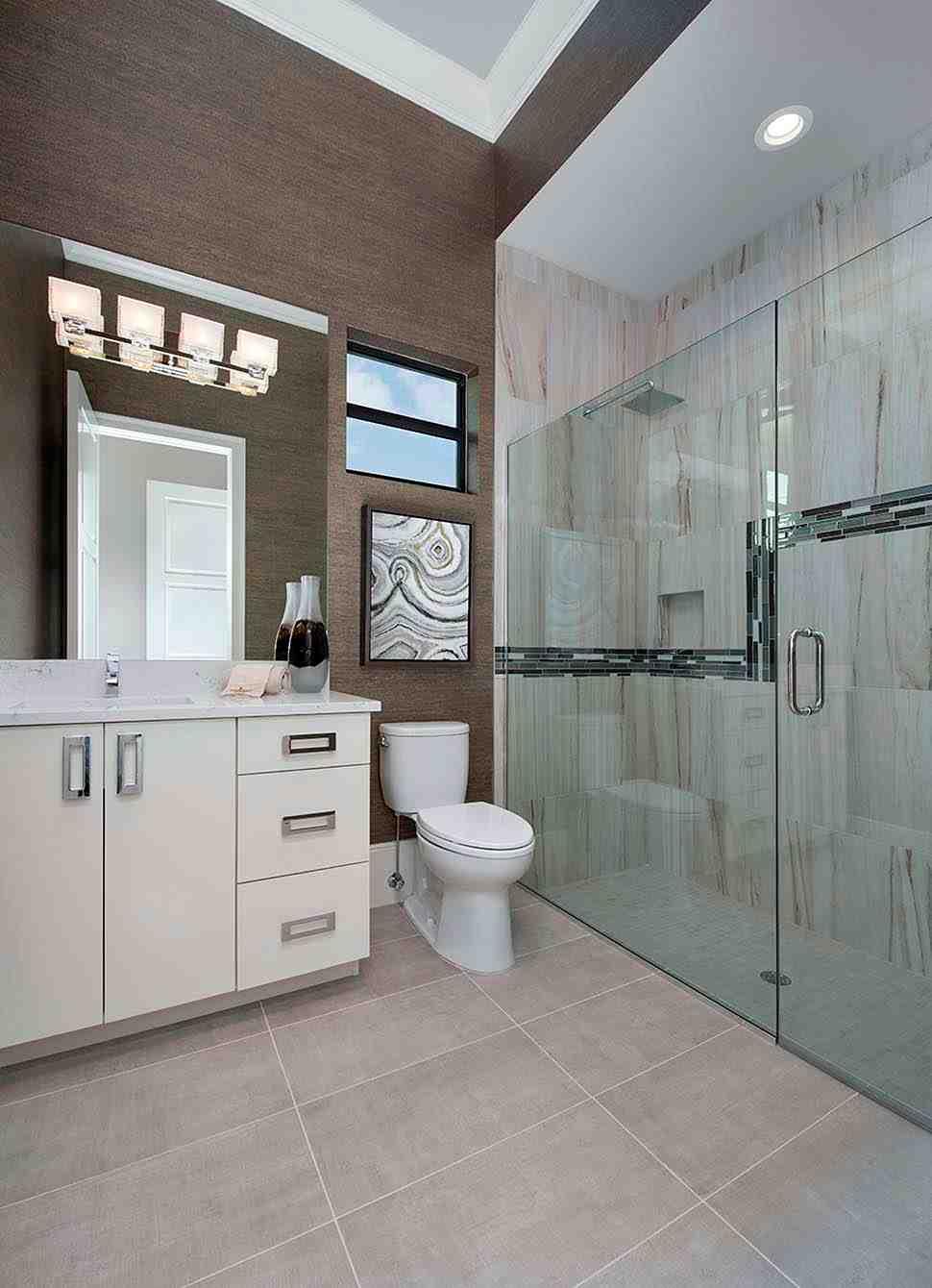 Coastal, Florida, Mediterranean House Plan 52930 with 4 Beds, 6 Baths, 3 Car Garage Picture 14