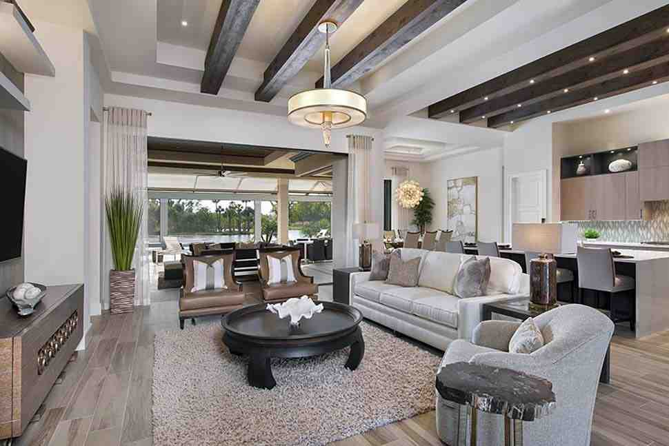 Coastal, Florida, Mediterranean House Plan 52930 with 4 Beds, 6 Baths, 3 Car Garage Picture 2