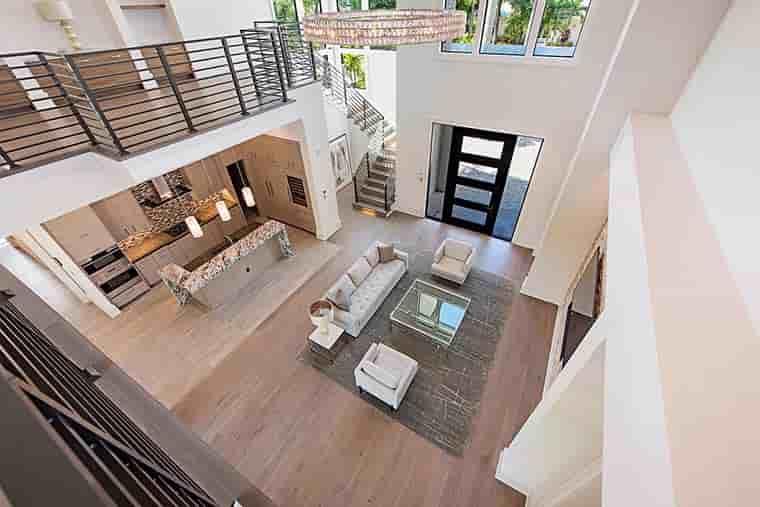 Coastal, Contemporary, Florida, Mediterranean House Plan 52931 with 4 Beds, 5 Baths, 3 Car Garage Picture 11