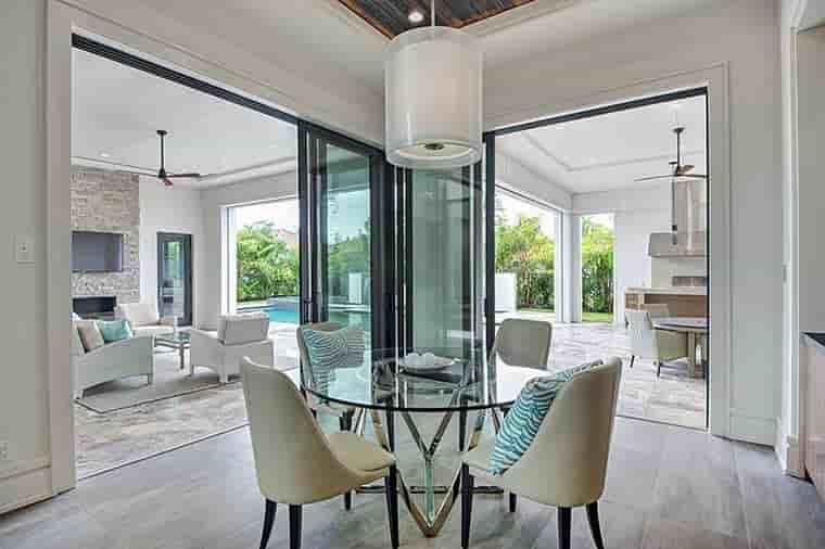 Coastal, Contemporary, Florida, Mediterranean House Plan 52931 with 4 Beds, 5 Baths, 3 Car Garage Picture 14