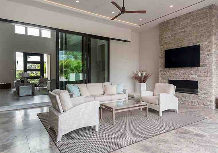 Coastal, Contemporary, Florida, Mediterranean House Plan 52931 with 4 Beds, 5 Baths, 3 Car Garage Picture 17