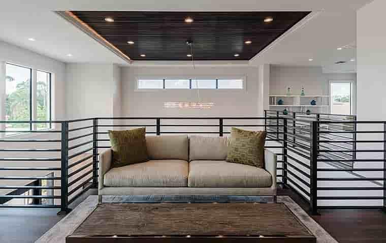 Coastal, Contemporary, Florida, Mediterranean House Plan 52931 with 4 Beds, 5 Baths, 3 Car Garage Picture 23