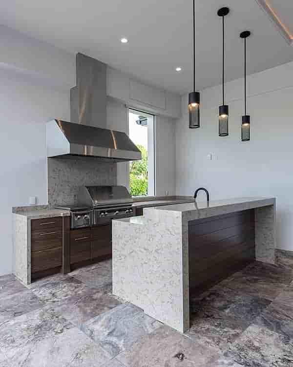 Coastal, Contemporary, Florida, Mediterranean House Plan 52931 with 4 Beds, 5 Baths, 3 Car Garage Picture 24