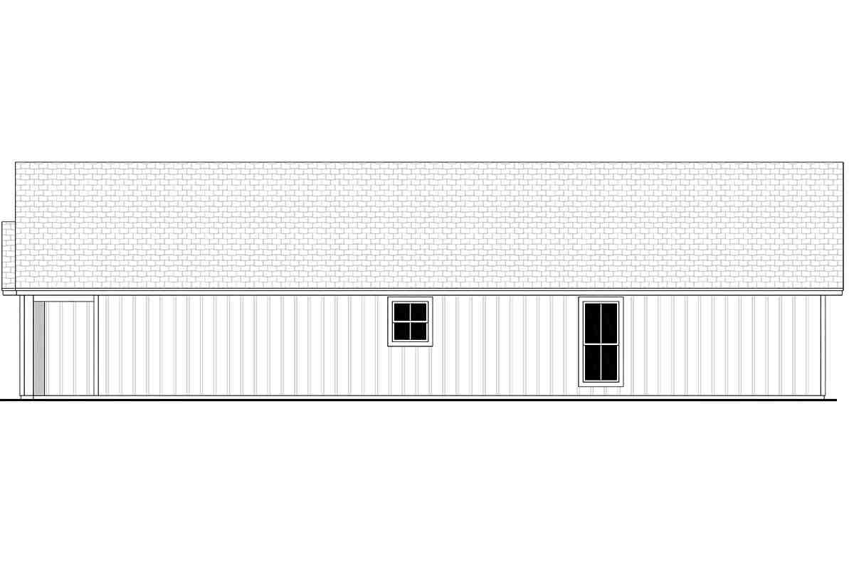 Country, Farmhouse, Traditional House Plan 56702 with 3 Beds, 2 Baths, 1 Car Garage Picture 1