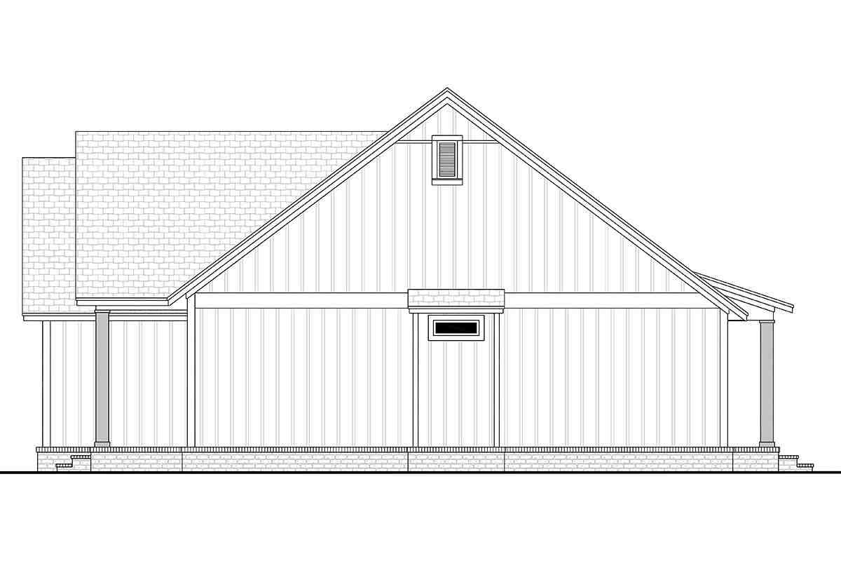 Country, Farmhouse, One-Story, Traditional House Plan 56715 with 3 Beds, 2 Baths, 2 Car Garage Picture 1