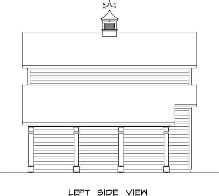 2 Car Garage Plan 58244 Picture 1