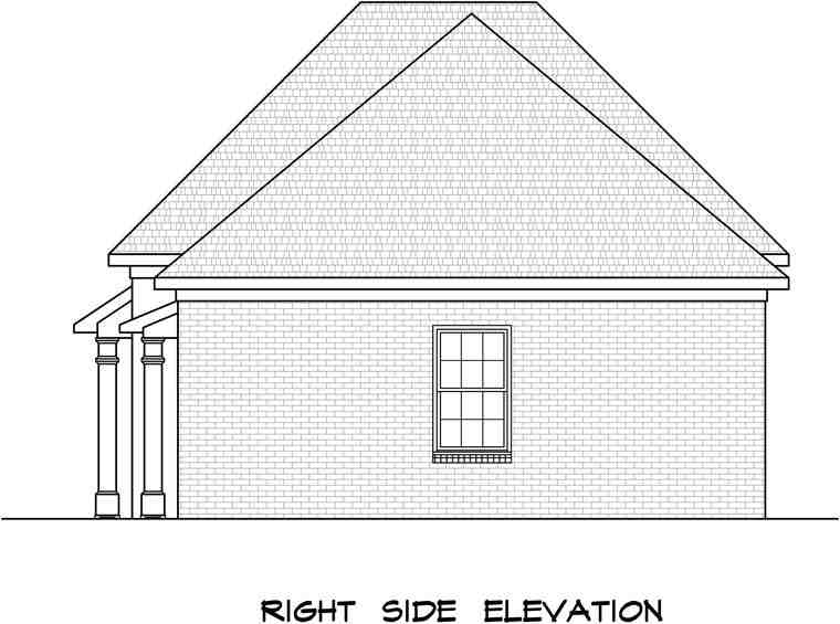 3 Car Garage Plan 58245 Picture 2