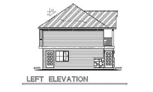 European, Ranch, Traditional 3 Car Garage Apartment Plan 58569 with 2 Beds, 2 Baths Picture 1